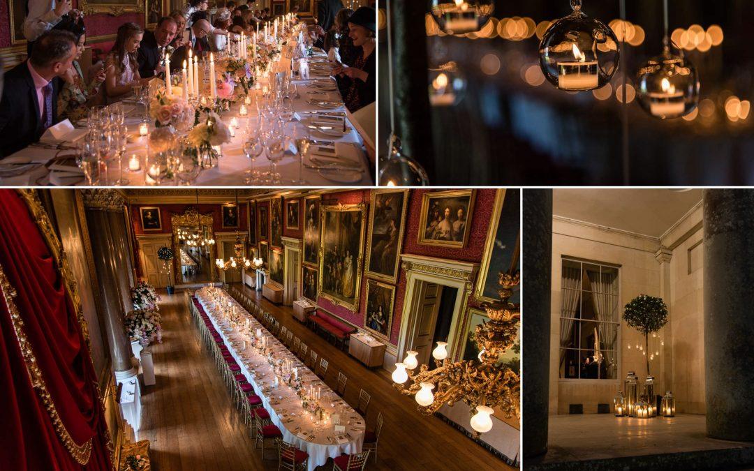 Goodwood House winter wedding